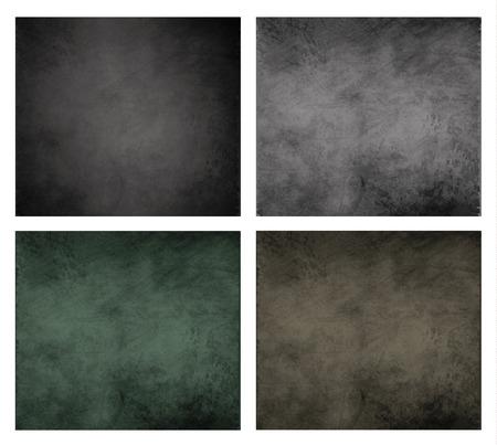 smudge: chalkboard blackboard background set grunge collection scratched smudge Illustration