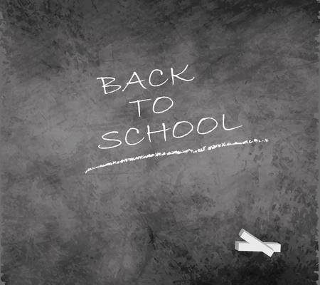 chalkboard blackboard back to school grunge gray smudge Illustration