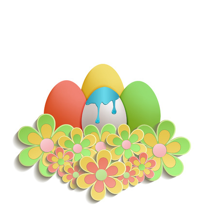 Easter Egg color raster colors flowers