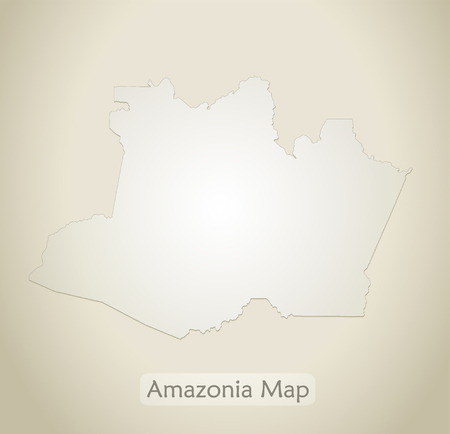 Amazon map Amazon old paper background