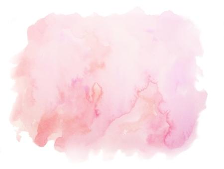 durazno: Antecedentes de melocotón rosado de la acuarela de la textura blanca Foto de archivo