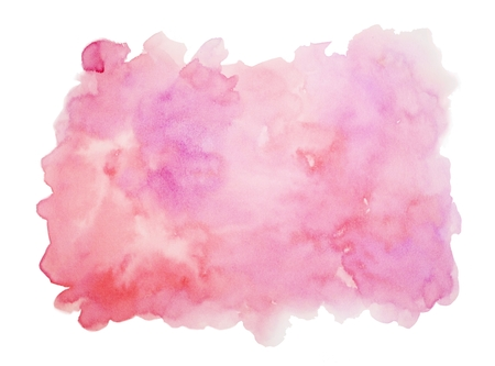 Purple Pink Red Watercolor Texture Background