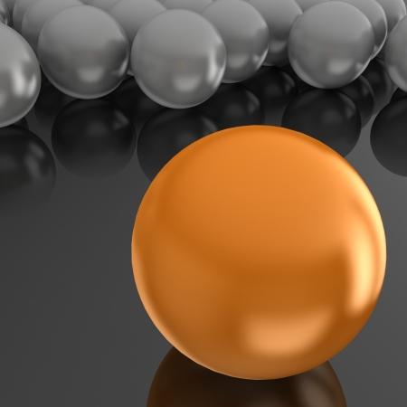 3d balls. Boss concept