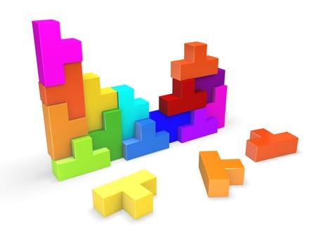 3d puzzle photo
