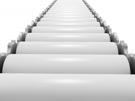 conveyor belt: 3d conveyor