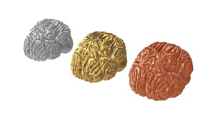 3d brain competition. Фото со стока