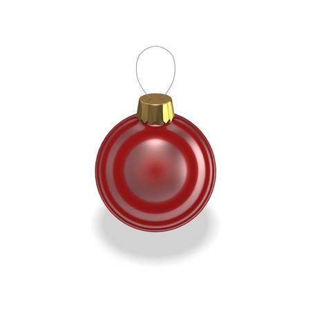 3d Christmas baubles