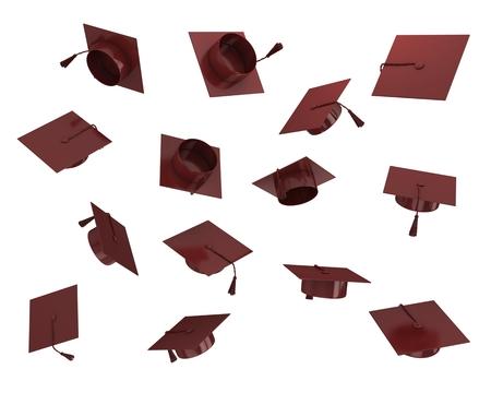 3d Graduation hat