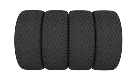 3d Wheel tires.