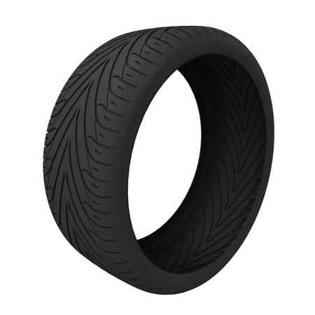 Wheel tires.
