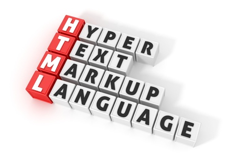 HTML Definition Stock Photo - 14408500