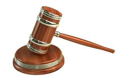 court proceedings: judges gavel, crime