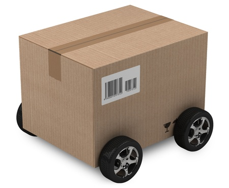Shipping, logistics and delivery concept. Stock Photo