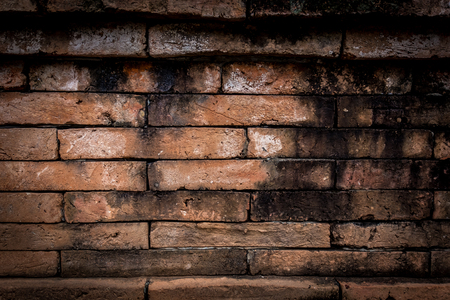 red old brick wall texture background, may use to interior design 免版税图像