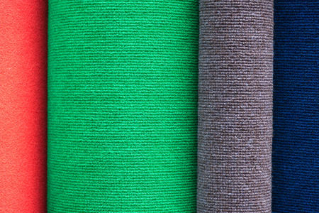 Roll of carpet colors photo