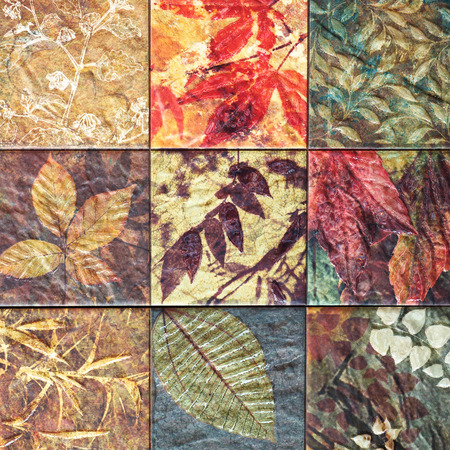 handcraft: Old wall ceramic tiles patterns handcraft