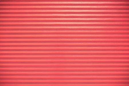 shutter door: Red roller shutter door