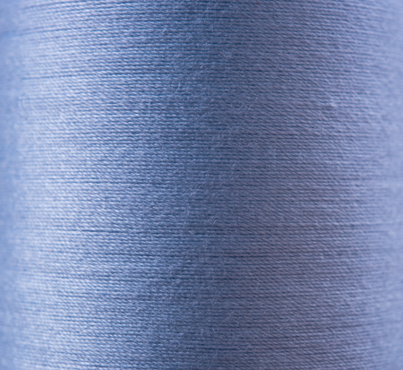 bonding rope: Closeup blue thread textile texture for background. Stock Photo
