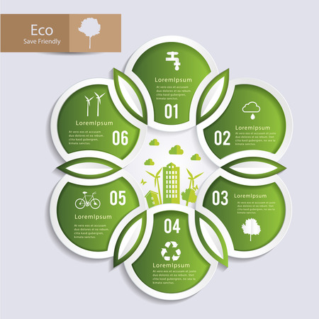 form a circle: Circle shape form to nature infographic. Can uesd for presentation, data diagram and infographic business