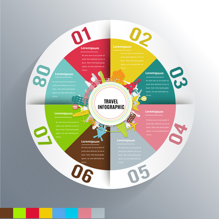 Travel modern Infographic design element banner.can used for banner,infographic,data,presentation business,chart,sign,brochure,leaflet and instruction media.Vector illustration. Illustration