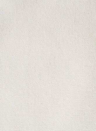 Closeup white canvas fabric texture for background.