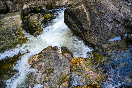 tunable: Water flowing down from the mountains.