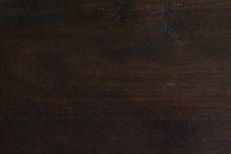textuur achtergrond van rustieke donkere Indonesische teak houten plank