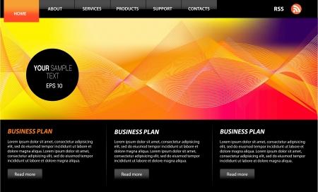 siti web: Web Design Web Elements Vettoriali