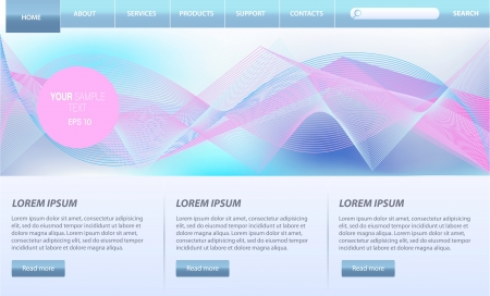Web Design Website  Elements Vector