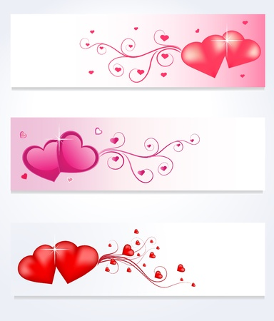 collection set of love  Vector