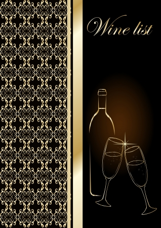 Drinks Menu Card Design template  Vector
