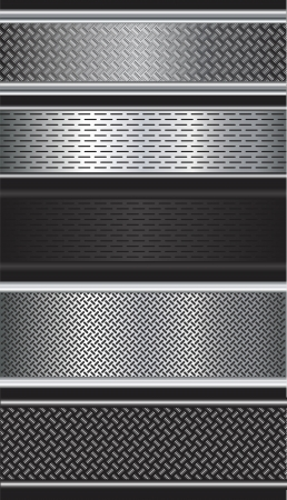Pattern of metal texture background  Vector illustration
