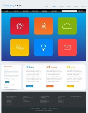 Web Design Website Vector Elements Vector
