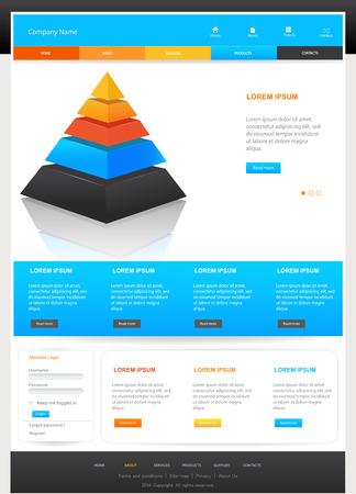 percentual: Web Design Website Elements