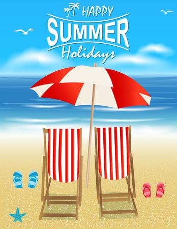 beach: Viaggi vacanze e vacanze estive. Vacanze e turismo concetto