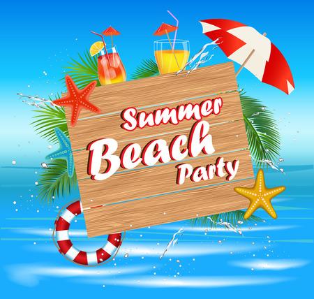 夏休みビーチ Party.Summer