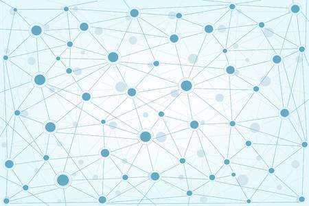 グローバル ネットワーク背景インターネット ネットワー キングの概念。  イラスト・ベクター素材
