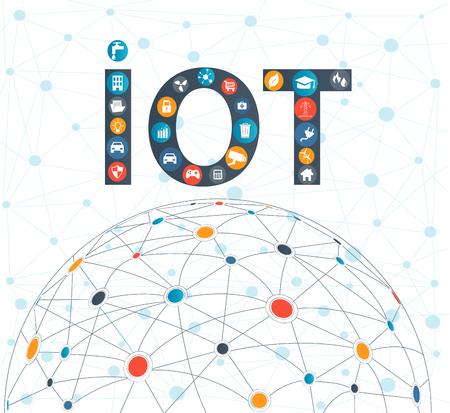 物事の概念と、クラウド コンピューティング技術インターネット ネットワー キングの概念のインターネット。アプリで特にクラウドのインターネ
