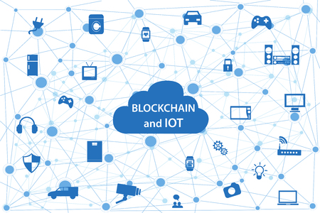 Internet of things concept and Cloud computing technology Smart Home Technology Internet networking concept. Internet of things cloud with apps.