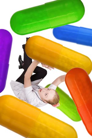 doctor and pills Stock Photo - 4189531