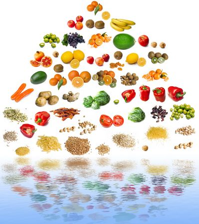 food pyramid photo