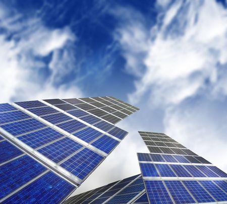 photons: solar panels