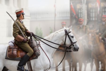 historical events: soldier on horse