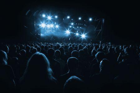 rock concert: concierto de rock Foto de archivo