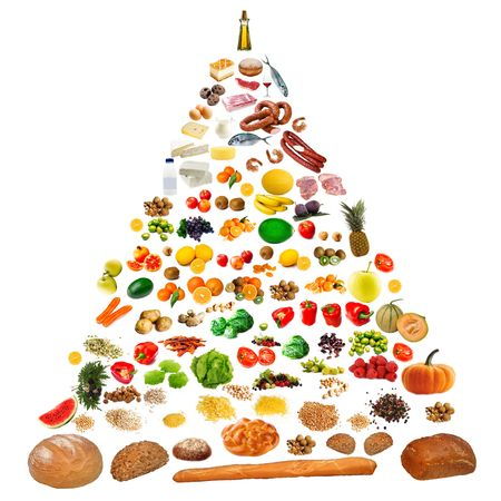 food pyramid Stock Photo - 5645080