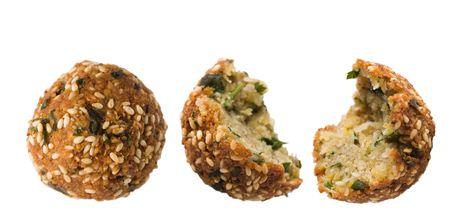 Falafel. Vegetarian food.