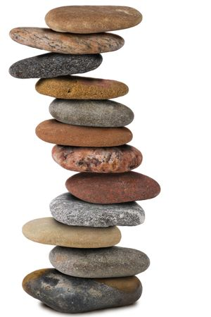 twelve zen stones