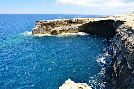 Reqqa Point is a popular reef diving site in Ghasri, Gozo, giving you an opportunity to explore the underwater world and discover the marine life