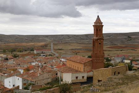 cid: San Miguels church in Huesa del Común, Teruel, Spain