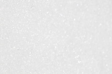 white bokeh of snow with brights